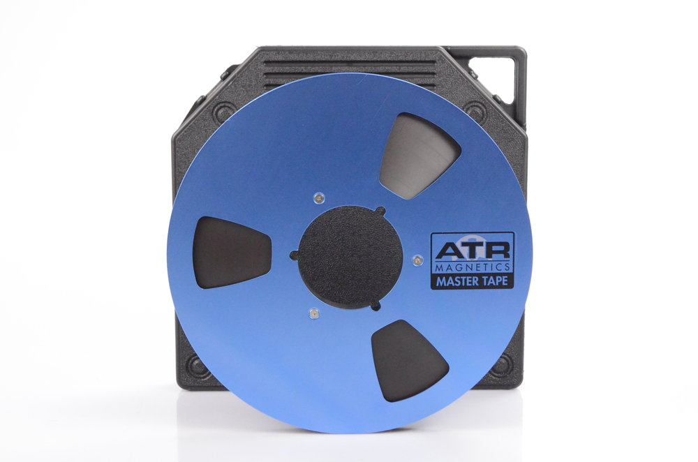 ATR Master reel to reel recoriding Tape on blue reels