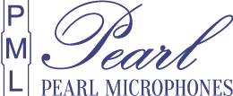 Pearl PML Professional Microphone Logo